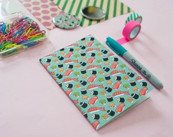 The True Sushi lover's notebook | pocket A6 note book