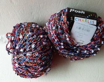 Yarn Sale  -  Reds 7  Posh by Stacy Charles