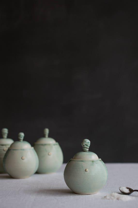 Petite Jar in Minty Green
