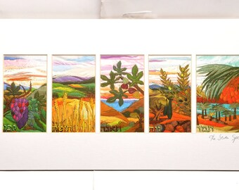 Sept espèces de Brahah Levy Art
