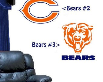 Chicago Bears Design #2 Or #3 Vinyl DECAL For Your Car Truck Window Wall
