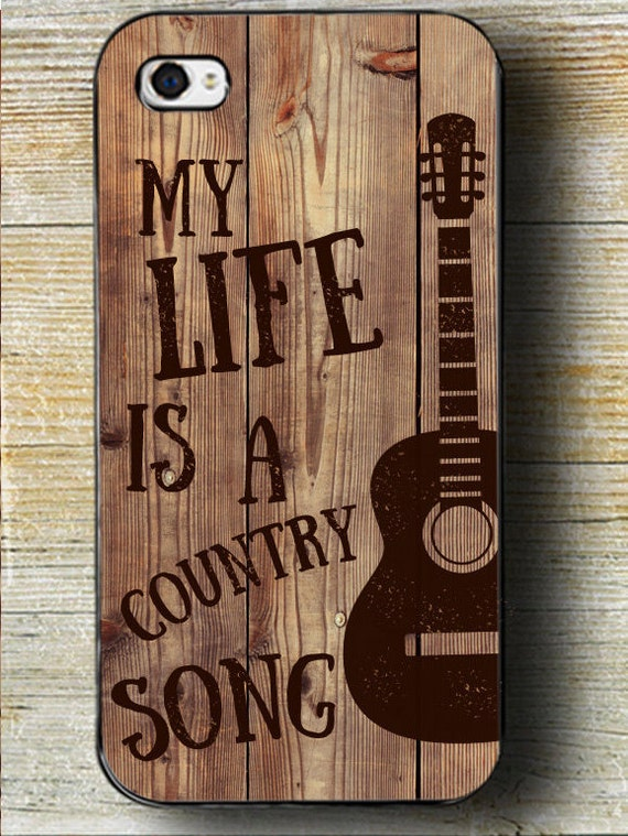 Items Similar To Country Song Phone Case