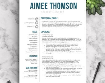 creative resume template for word pages 1 2 and 3 page resume templates - Resume Templates For Pages