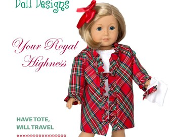 "Too Cute Doll Designs WINTER 2016 Issue - Sewing patterns for 18"" dolls"