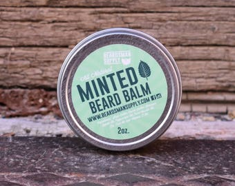 Minted Beard Balm