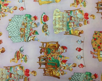 Robert Kaufman Fabric, Better Than Chocolate No Calories Lavendar Bkg 1 Yard