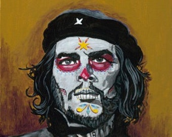 Che day of the dead print