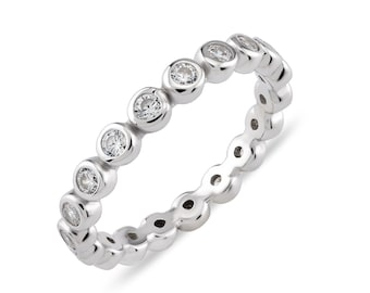 Glint Eternity Band Ring
