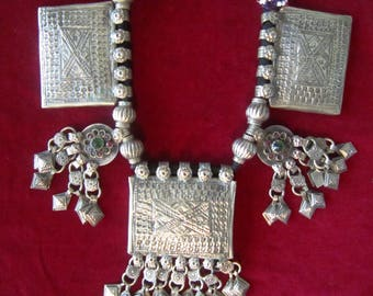Vintage KUCHI Rare NECKLACE  Banjara Kuchi Tribal Gypsy Boho Belly dance OOAK 243