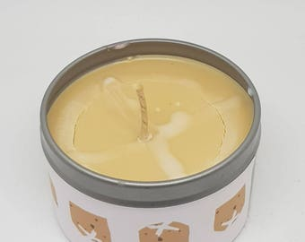 Hot Cross Bun Easter Scented Soy Candle 6oz