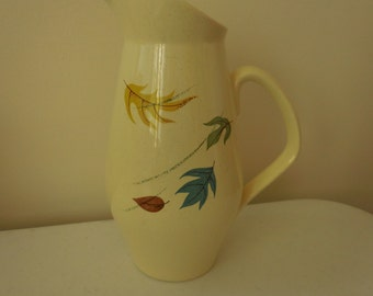Franciscan Earthenware Pottery Pitcher