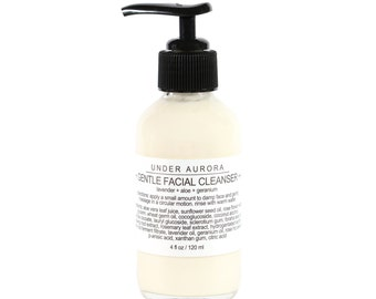 Gentle Facial Cleanser - organic, plant-based cream cleanser for the face
