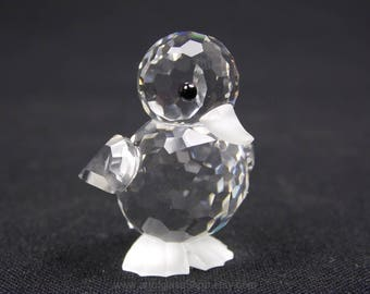 Swarovski Crystal duck #7666 NR 032 000