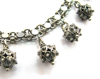 925 Sterling Silver Chandelier Necklace - ID239