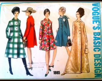 Vogue's Basic Design  1885   Size   8