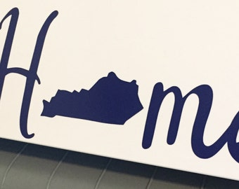 Home State Decal