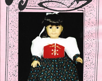 Doll Clothes Patterns LTD - Vintage 1995 -  Personal Touch 246-A - 18 inch Doll -  Nordic Costume  - pattern has been cut