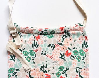 Organic Breastfeeding Bib, Nursing Cover, and Burp Cloth~Nursing Bib~Unique Baby Shower Gift~The MOMMY MATE