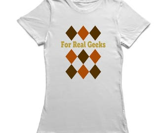 For Real Geeks Vest  Women's T-shirt