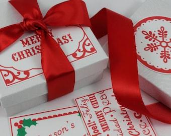 Christmas gift tags Christmas printable tags