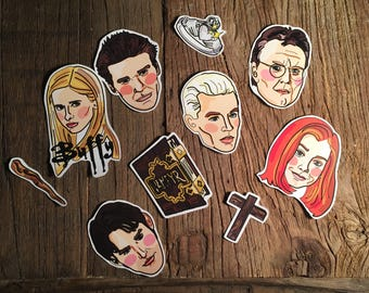 Buffy the Vampire Slayer Sticker Pack