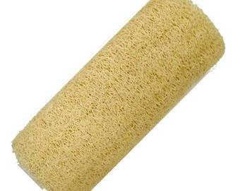 8 Inch Natural Organic Homegrown Luffa  - Loofa Sponge Bath Shower