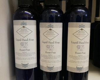 Liquid Hand Soap - Scent Free
