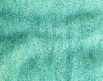Merino Wool Roving - Sea Glass - 1 oz