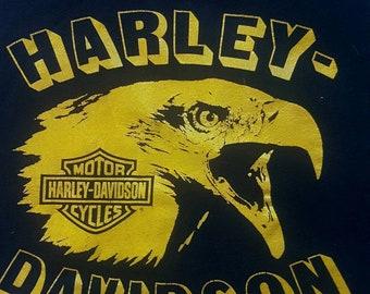 Vintage harley davidson shirt 90s tank