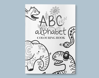 Coloring book | Etsy