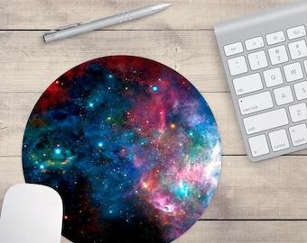 Blau und lila Galaxy Maus-Pad, Weltraum-Maus-Pad, Galaxy Maus-Pad (0065)
