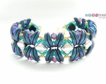 Stream bracelet - instant download beading pattern