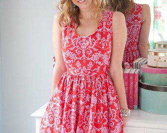 Sis Boom Angie Dress for women...easy sew and all time favorite.  PDF downloadable pattern.