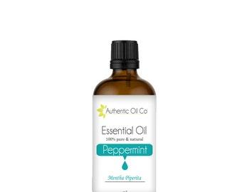Peppermint Essential Oil 100% Pure 10ml 50ml 100ml