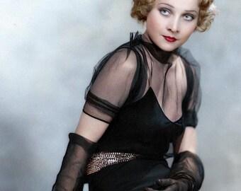 Eve Farrell taken in 1934