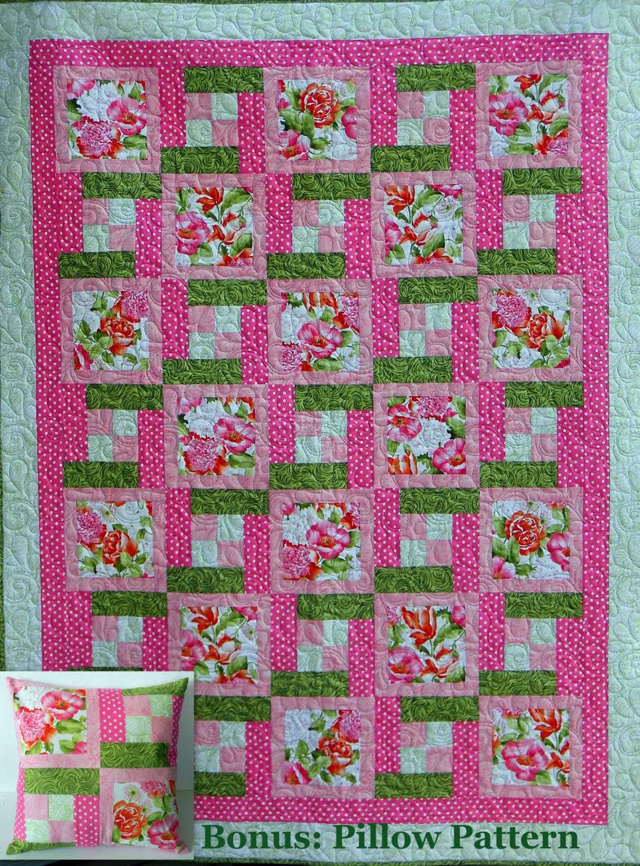 5-YARD Everyday Quilt Pattern Pillow Bonus Novelty : pdf quilt patterns - Adamdwight.com