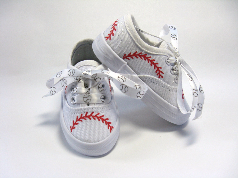 New  Baseball Theme Shoe Laces