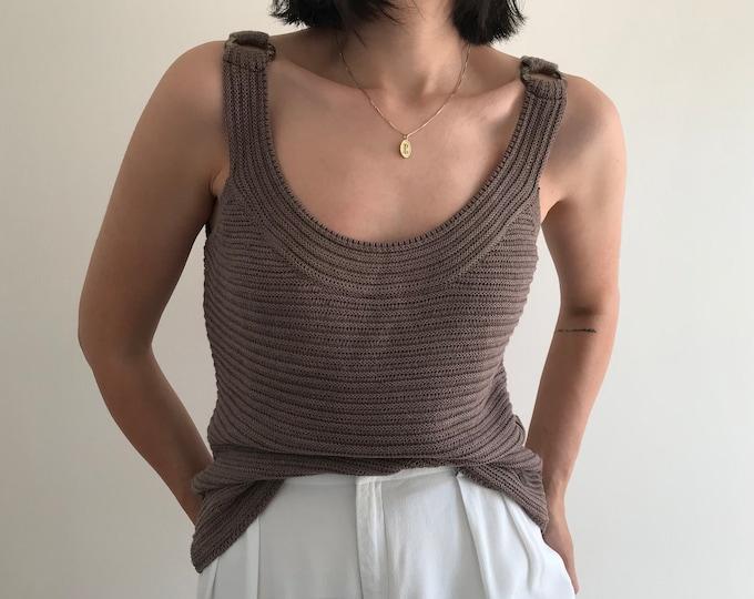 Vintage Mocha Ring Knit