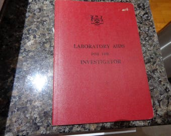 Laboratory Aids for the Investigator Ontario Ministry of Solicitor General 1978 3rd edition