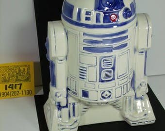 1977 20th Century Fox/Lucasfilms- StarWars R2D2 Ceramic Cookie jar