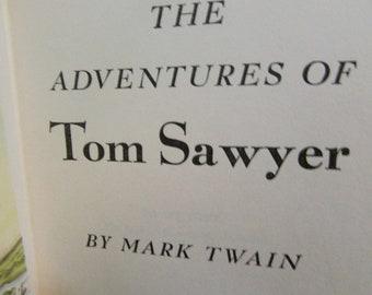 The Adventures of Tom Sawyer, Mark Twain 1946, Good Vintage Condition