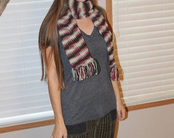 Hat and Scarf, Multi Color