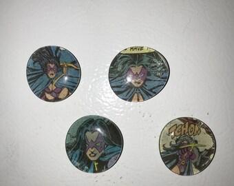 Huntress Magnets