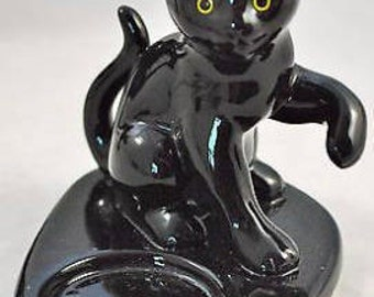 Partylite Black Cat/Kitten Tealite Holder