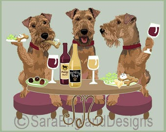 Dogs WINEing - Welsh Terrier