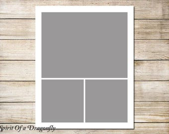 16x20 Storyboard Collage Template Photographer Template 16x20 Photo Collage Template