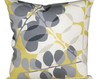 Scion Lunaria Sunflower Yellow & Gull Cushion Cover