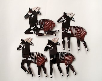 Bongo Antelope Mini Beast  / Hinged Beasts Series