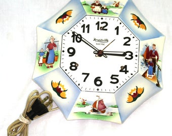 Forestville Ceramic Wall Clock