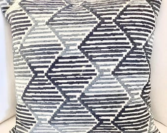 Decorative pillow, 20x20 accent pillow cover, upholstery fabric, toss pillow, throw pillow, farmhouse decor, sofa pillow, bedroom pillow